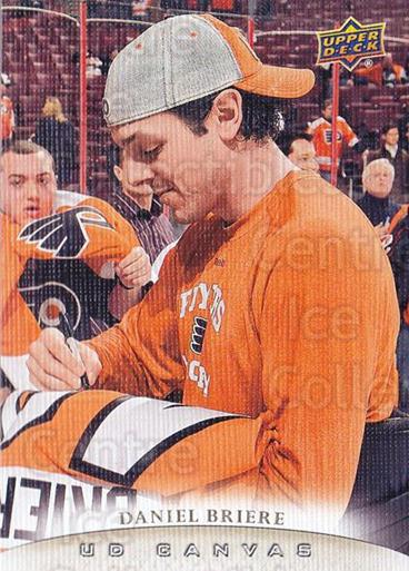 2011-12 Upper Deck Canvas #61 Daniel Briere<br/>1 In Stock - $2.00 each - <a href=https://centericecollectibles.foxycart.com/cart?name=2011-12%20Upper%20Deck%20Canvas%20%2361%20Daniel%20Briere...&quantity_max=1&price=$2.00&code=703794 class=foxycart> Buy it now! </a>