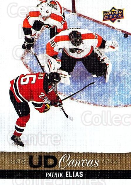 2013-14 Upper Deck Canvas #16 Patrik Elias<br/>2 In Stock - $2.00 each - <a href=https://centericecollectibles.foxycart.com/cart?name=2013-14%20Upper%20Deck%20Canvas%20%2316%20Patrik%20Elias...&quantity_max=2&price=$2.00&code=704019 class=foxycart> Buy it now! </a>