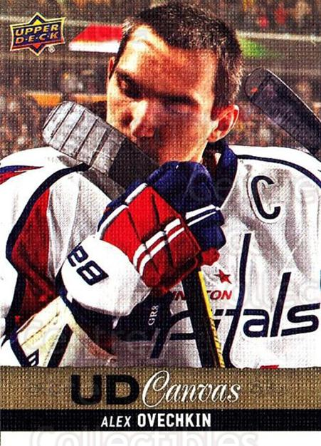 2013-14 Upper Deck Canvas #25 Alexander Ovechkin<br/>1 In Stock - $5.00 each - <a href=https://centericecollectibles.foxycart.com/cart?name=2013-14%20Upper%20Deck%20Canvas%20%2325%20Alexander%20Ovech...&price=$5.00&code=704028 class=foxycart> Buy it now! </a>