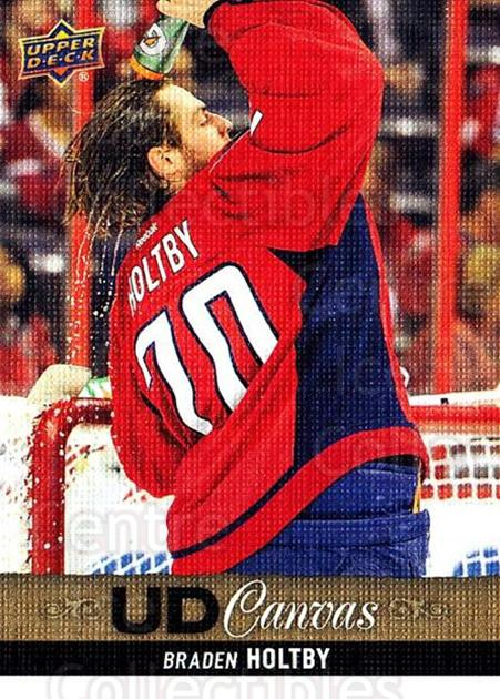 2013-14 Upper Deck Canvas #26 Braden Holtby<br/>1 In Stock - $2.00 each - <a href=https://centericecollectibles.foxycart.com/cart?name=2013-14%20Upper%20Deck%20Canvas%20%2326%20Braden%20Holtby...&quantity_max=1&price=$2.00&code=704029 class=foxycart> Buy it now! </a>