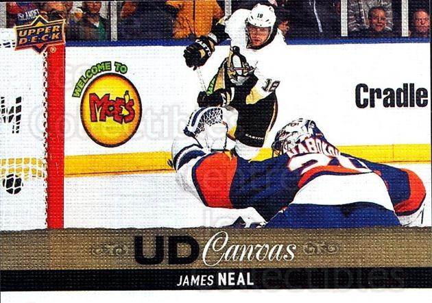 2013-14 Upper Deck Canvas #36 James Neal<br/>2 In Stock - $2.00 each - <a href=https://centericecollectibles.foxycart.com/cart?name=2013-14%20Upper%20Deck%20Canvas%20%2336%20James%20Neal...&quantity_max=2&price=$2.00&code=704039 class=foxycart> Buy it now! </a>