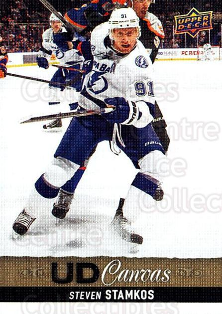 2013-14 Upper Deck Canvas #41 Steven Stamkos<br/>2 In Stock - $3.00 each - <a href=https://centericecollectibles.foxycart.com/cart?name=2013-14%20Upper%20Deck%20Canvas%20%2341%20Steven%20Stamkos...&price=$3.00&code=704044 class=foxycart> Buy it now! </a>