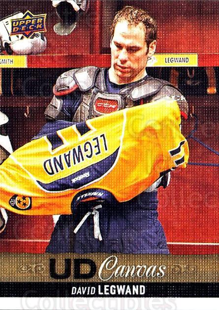 2013-14 Upper Deck Canvas #48 David Legwand<br/>2 In Stock - $2.00 each - <a href=https://centericecollectibles.foxycart.com/cart?name=2013-14%20Upper%20Deck%20Canvas%20%2348%20David%20Legwand...&quantity_max=2&price=$2.00&code=704051 class=foxycart> Buy it now! </a>