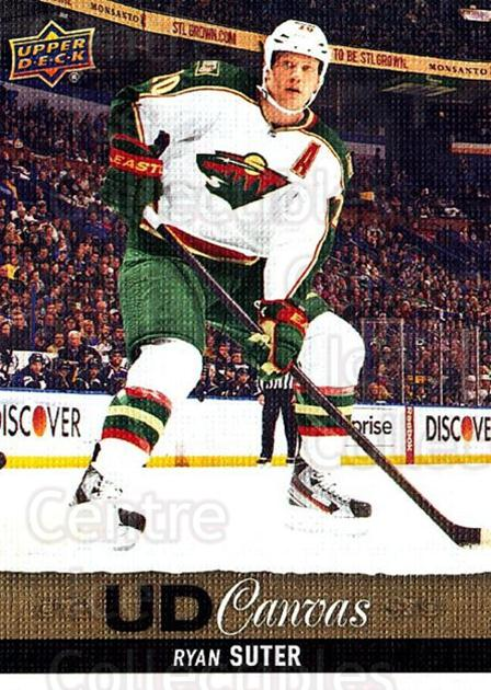 2013-14 Upper Deck Canvas #59 Ryan Suter<br/>2 In Stock - $2.00 each - <a href=https://centericecollectibles.foxycart.com/cart?name=2013-14%20Upper%20Deck%20Canvas%20%2359%20Ryan%20Suter...&quantity_max=2&price=$2.00&code=704062 class=foxycart> Buy it now! </a>