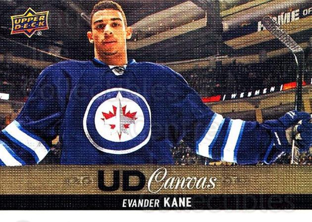 2013-14 Upper Deck Canvas #63 Evander Kane<br/>2 In Stock - $2.00 each - <a href=https://centericecollectibles.foxycart.com/cart?name=2013-14%20Upper%20Deck%20Canvas%20%2363%20Evander%20Kane...&quantity_max=2&price=$2.00&code=704066 class=foxycart> Buy it now! </a>