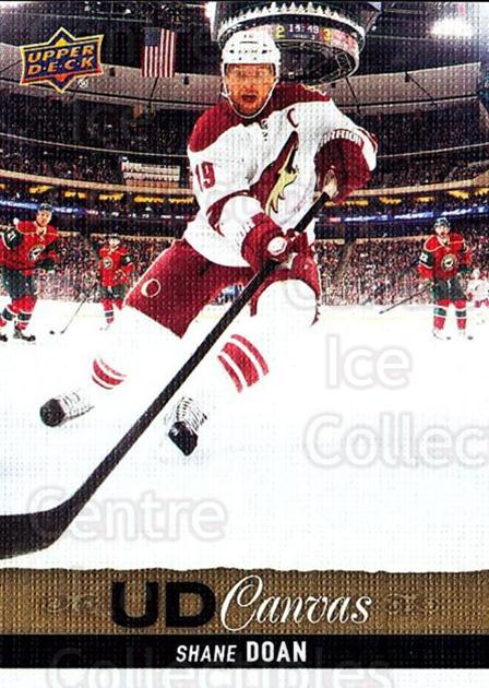 2013-14 Upper Deck Canvas #68 Shane Doan<br/>1 In Stock - $2.00 each - <a href=https://centericecollectibles.foxycart.com/cart?name=2013-14%20Upper%20Deck%20Canvas%20%2368%20Shane%20Doan...&quantity_max=1&price=$2.00&code=704071 class=foxycart> Buy it now! </a>