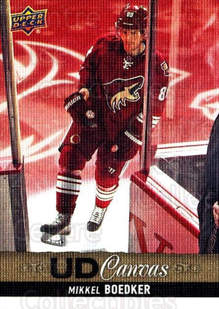 2013-14 Upper Deck Canvas #69 Mikkel Boedker<br/>2 In Stock - $2.00 each - <a href=https://centericecollectibles.foxycart.com/cart?name=2013-14%20Upper%20Deck%20Canvas%20%2369%20Mikkel%20Boedker...&quantity_max=2&price=$2.00&code=704072 class=foxycart> Buy it now! </a>