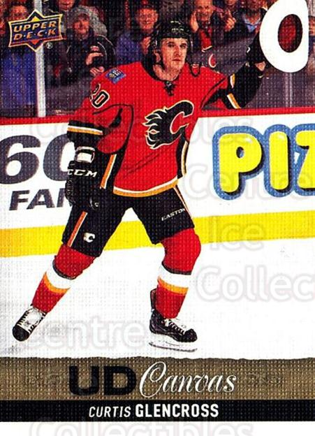 2013-14 Upper Deck Canvas #73 Curtis Glencross<br/>1 In Stock - $2.00 each - <a href=https://centericecollectibles.foxycart.com/cart?name=2013-14%20Upper%20Deck%20Canvas%20%2373%20Curtis%20Glencros...&quantity_max=1&price=$2.00&code=704076 class=foxycart> Buy it now! </a>