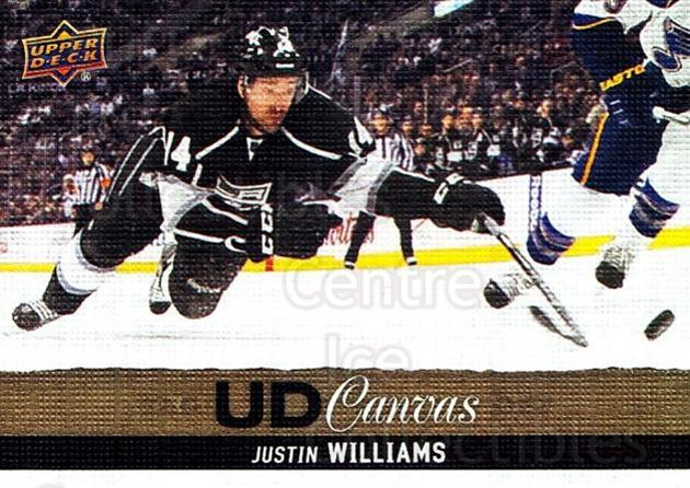 2013-14 Upper Deck Canvas #81 Justin Williams<br/>2 In Stock - $2.00 each - <a href=https://centericecollectibles.foxycart.com/cart?name=2013-14%20Upper%20Deck%20Canvas%20%2381%20Justin%20Williams...&quantity_max=2&price=$2.00&code=704084 class=foxycart> Buy it now! </a>