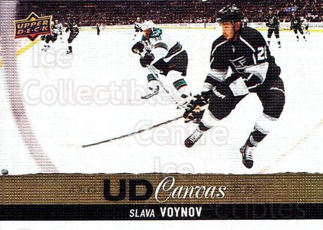 2013-14 Upper Deck Canvas #83 Slava Voynov<br/>2 In Stock - $2.00 each - <a href=https://centericecollectibles.foxycart.com/cart?name=2013-14%20Upper%20Deck%20Canvas%20%2383%20Slava%20Voynov...&quantity_max=2&price=$2.00&code=704086 class=foxycart> Buy it now! </a>