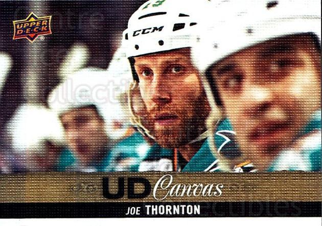 2013-14 Upper Deck Canvas #84 Joe Thornton<br/>1 In Stock - $2.00 each - <a href=https://centericecollectibles.foxycart.com/cart?name=2013-14%20Upper%20Deck%20Canvas%20%2384%20Joe%20Thornton...&quantity_max=1&price=$2.00&code=704087 class=foxycart> Buy it now! </a>