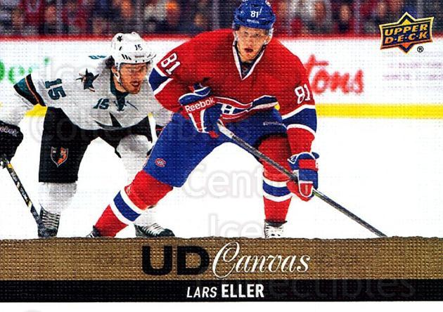 2013-14 Upper Deck Canvas #125 Lars Eller<br/>1 In Stock - $2.00 each - <a href=https://centericecollectibles.foxycart.com/cart?name=2013-14%20Upper%20Deck%20Canvas%20%23125%20Lars%20Eller...&quantity_max=1&price=$2.00&code=704128 class=foxycart> Buy it now! </a>