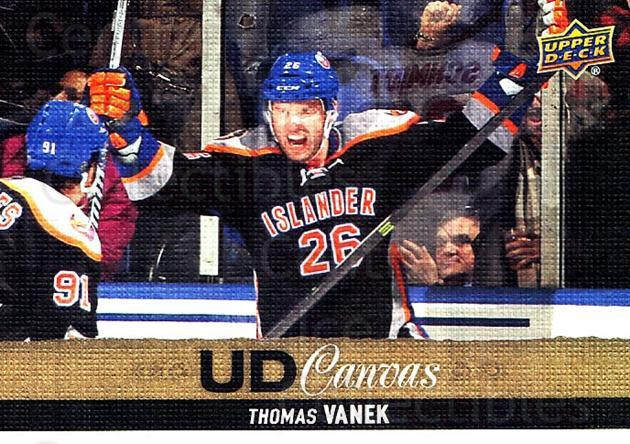 2013-14 Upper Deck Canvas #129 Thomas Vanek<br/>2 In Stock - $2.00 each - <a href=https://centericecollectibles.foxycart.com/cart?name=2013-14%20Upper%20Deck%20Canvas%20%23129%20Thomas%20Vanek...&quantity_max=2&price=$2.00&code=704132 class=foxycart> Buy it now! </a>