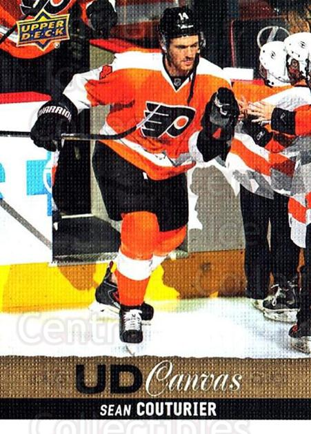 2013-14 Upper Deck Canvas #139 Sean Couturier<br/>2 In Stock - $2.00 each - <a href=https://centericecollectibles.foxycart.com/cart?name=2013-14%20Upper%20Deck%20Canvas%20%23139%20Sean%20Couturier...&quantity_max=2&price=$2.00&code=704142 class=foxycart> Buy it now! </a>