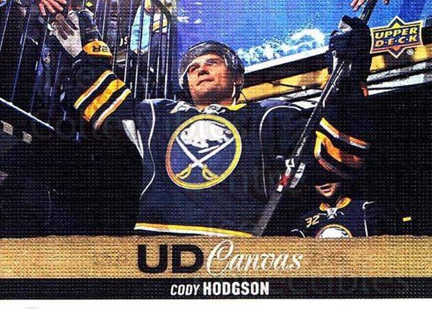 2013-14 Upper Deck Canvas #149 Cody Hodgson<br/>1 In Stock - $2.00 each - <a href=https://centericecollectibles.foxycart.com/cart?name=2013-14%20Upper%20Deck%20Canvas%20%23149%20Cody%20Hodgson...&quantity_max=1&price=$2.00&code=704152 class=foxycart> Buy it now! </a>