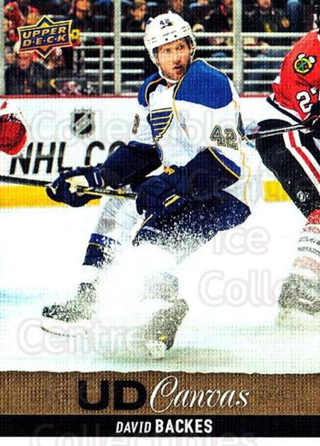 2013-14 Upper Deck Canvas #175 David Backes<br/>1 In Stock - $2.00 each - <a href=https://centericecollectibles.foxycart.com/cart?name=2013-14%20Upper%20Deck%20Canvas%20%23175%20David%20Backes...&quantity_max=1&price=$2.00&code=704178 class=foxycart> Buy it now! </a>