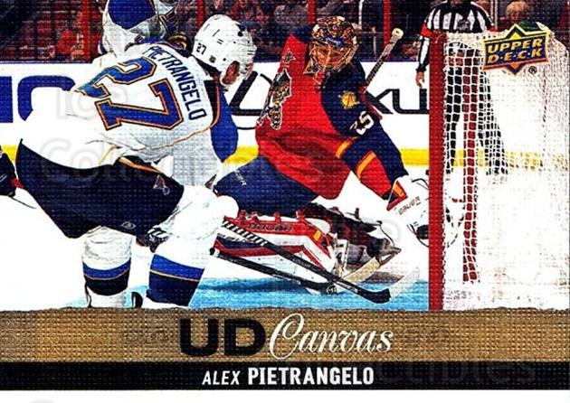 2013-14 Upper Deck Canvas #176 Alex Pietrangelo<br/>1 In Stock - $2.00 each - <a href=https://centericecollectibles.foxycart.com/cart?name=2013-14%20Upper%20Deck%20Canvas%20%23176%20Alex%20Pietrangel...&quantity_max=1&price=$2.00&code=704179 class=foxycart> Buy it now! </a>
