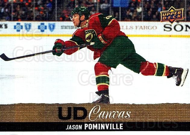 2013-14 Upper Deck Canvas #180 Jason Pominville<br/>2 In Stock - $2.00 each - <a href=https://centericecollectibles.foxycart.com/cart?name=2013-14%20Upper%20Deck%20Canvas%20%23180%20Jason%20Pominvill...&quantity_max=2&price=$2.00&code=704183 class=foxycart> Buy it now! </a>