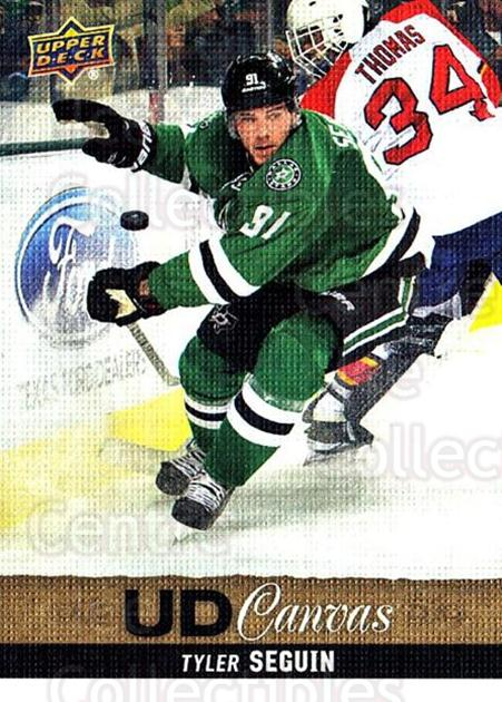 2013-14 Upper Deck Canvas #181 Tyler Seguin<br/>2 In Stock - $2.00 each - <a href=https://centericecollectibles.foxycart.com/cart?name=2013-14%20Upper%20Deck%20Canvas%20%23181%20Tyler%20Seguin...&quantity_max=2&price=$2.00&code=704184 class=foxycart> Buy it now! </a>