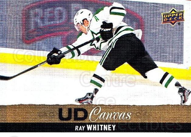 2013-14 Upper Deck Canvas #182 Ray Whitney<br/>1 In Stock - $2.00 each - <a href=https://centericecollectibles.foxycart.com/cart?name=2013-14%20Upper%20Deck%20Canvas%20%23182%20Ray%20Whitney...&quantity_max=1&price=$2.00&code=704185 class=foxycart> Buy it now! </a>
