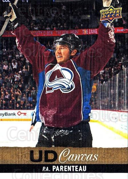 2013-14 Upper Deck Canvas #186 PA Parenteau<br/>1 In Stock - $2.00 each - <a href=https://centericecollectibles.foxycart.com/cart?name=2013-14%20Upper%20Deck%20Canvas%20%23186%20PA%20Parenteau...&quantity_max=1&price=$2.00&code=704189 class=foxycart> Buy it now! </a>