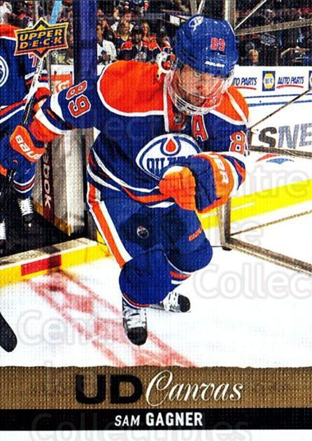 2013-14 Upper Deck Canvas #192 Sam Gagner<br/>1 In Stock - $2.00 each - <a href=https://centericecollectibles.foxycart.com/cart?name=2013-14%20Upper%20Deck%20Canvas%20%23192%20Sam%20Gagner...&quantity_max=1&price=$2.00&code=704195 class=foxycart> Buy it now! </a>