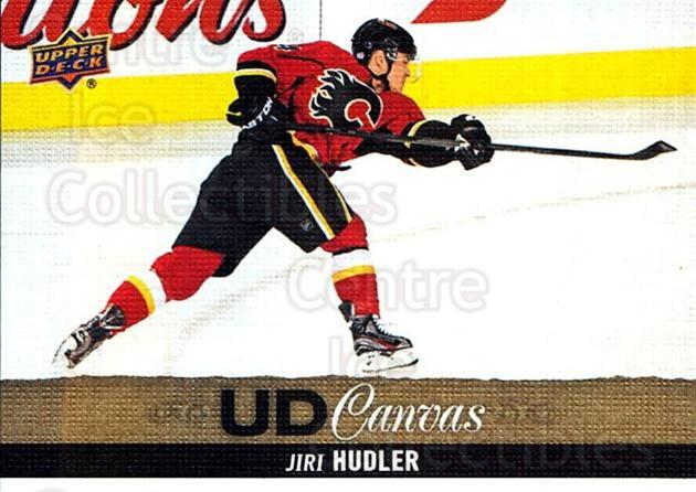2013-14 Upper Deck Canvas #196 Jiri Hudler<br/>2 In Stock - $2.00 each - <a href=https://centericecollectibles.foxycart.com/cart?name=2013-14%20Upper%20Deck%20Canvas%20%23196%20Jiri%20Hudler...&quantity_max=2&price=$2.00&code=704199 class=foxycart> Buy it now! </a>