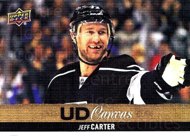 2013-14 Upper Deck Canvas #201 Jeff Carter<br/>1 In Stock - $2.00 each - <a href=https://centericecollectibles.foxycart.com/cart?name=2013-14%20Upper%20Deck%20Canvas%20%23201%20Jeff%20Carter...&quantity_max=1&price=$2.00&code=704204 class=foxycart> Buy it now! </a>