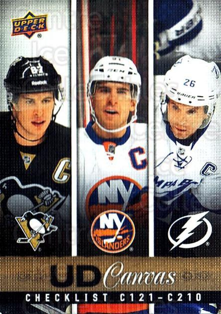 2013-14 Upper Deck Canvas #210 Sidney Crosby, John Tavares, Martin St. Louis<br/>1 In Stock - $10.00 each - <a href=https://centericecollectibles.foxycart.com/cart?name=2013-14%20Upper%20Deck%20Canvas%20%23210%20Sidney%20Crosby,%20...&price=$10.00&code=704213 class=foxycart> Buy it now! </a>