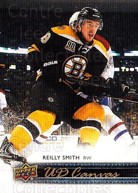 2014-15 Upper Deck Canvas #9 Reilly Smith<br/>1 In Stock - $2.00 each - <a href=https://centericecollectibles.foxycart.com/cart?name=2014-15%20Upper%20Deck%20Canvas%20%239%20Reilly%20Smith...&quantity_max=1&price=$2.00&code=704282 class=foxycart> Buy it now! </a>