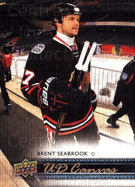 2014-15 Upper Deck Canvas #20 Brent Seabrook<br/>1 In Stock - $2.00 each - <a href=https://centericecollectibles.foxycart.com/cart?name=2014-15%20Upper%20Deck%20Canvas%20%2320%20Brent%20Seabrook...&quantity_max=1&price=$2.00&code=704293 class=foxycart> Buy it now! </a>