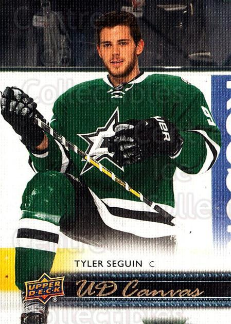 2014-15 Upper Deck Canvas #28 Tyler Seguin<br/>1 In Stock - $3.00 each - <a href=https://centericecollectibles.foxycart.com/cart?name=2014-15%20Upper%20Deck%20Canvas%20%2328%20Tyler%20Seguin...&quantity_max=1&price=$3.00&code=704301 class=foxycart> Buy it now! </a>