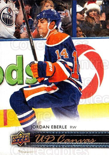 2014-15 Upper Deck Canvas #35 Jordan Eberle<br/>2 In Stock - $2.00 each - <a href=https://centericecollectibles.foxycart.com/cart?name=2014-15%20Upper%20Deck%20Canvas%20%2335%20Jordan%20Eberle...&quantity_max=2&price=$2.00&code=704308 class=foxycart> Buy it now! </a>