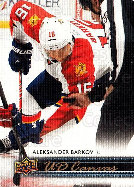 2014-15 Upper Deck Canvas #37 Aleksander Barkov<br/>2 In Stock - $2.00 each - <a href=https://centericecollectibles.foxycart.com/cart?name=2014-15%20Upper%20Deck%20Canvas%20%2337%20Aleksander%20Bark...&quantity_max=2&price=$2.00&code=704310 class=foxycart> Buy it now! </a>