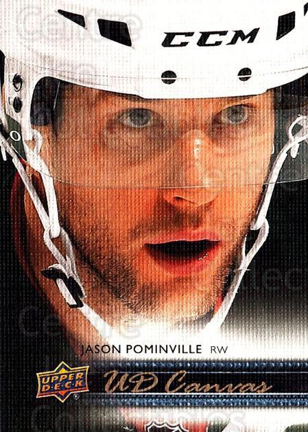 2014-15 Upper Deck Canvas #42 Jason Pominville<br/>3 In Stock - $2.00 each - <a href=https://centericecollectibles.foxycart.com/cart?name=2014-15%20Upper%20Deck%20Canvas%20%2342%20Jason%20Pominvill...&quantity_max=3&price=$2.00&code=704315 class=foxycart> Buy it now! </a>