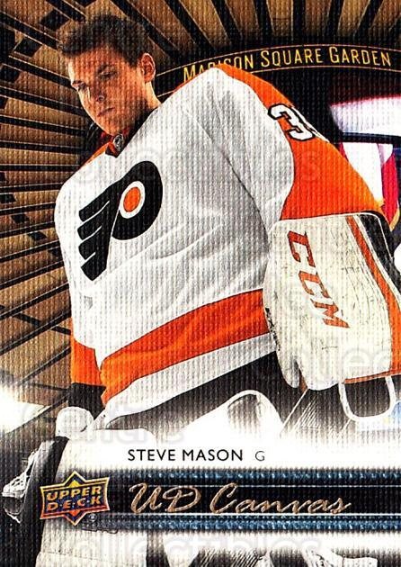 2014-15 Upper Deck Canvas #64 Steve Mason<br/>1 In Stock - $2.00 each - <a href=https://centericecollectibles.foxycart.com/cart?name=2014-15%20Upper%20Deck%20Canvas%20%2364%20Steve%20Mason...&quantity_max=1&price=$2.00&code=704337 class=foxycart> Buy it now! </a>