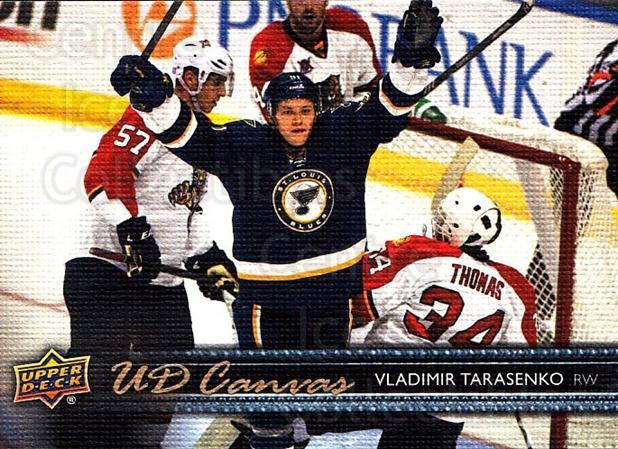 2014-15 Upper Deck Canvas #74 Vladimir Tarasenko<br/>2 In Stock - $3.00 each - <a href=https://centericecollectibles.foxycart.com/cart?name=2014-15%20Upper%20Deck%20Canvas%20%2374%20Vladimir%20Tarase...&quantity_max=2&price=$3.00&code=704347 class=foxycart> Buy it now! </a>