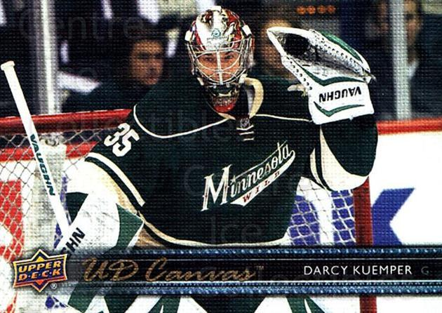 2014-15 Upper Deck Canvas #162 Darcy Kuemper<br/>1 In Stock - $2.00 each - <a href=https://centericecollectibles.foxycart.com/cart?name=2014-15%20Upper%20Deck%20Canvas%20%23162%20Darcy%20Kuemper...&price=$2.00&code=704435 class=foxycart> Buy it now! </a>
