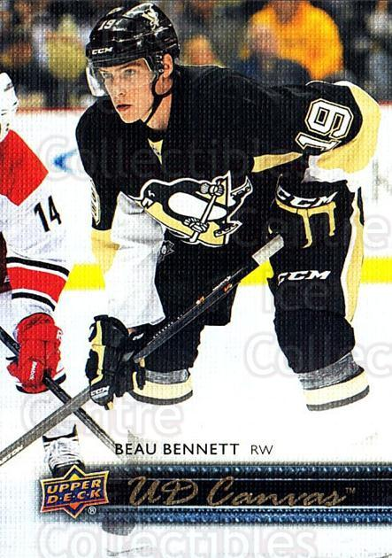 2014-15 Upper Deck Canvas #187 Beau Bennett<br/>1 In Stock - $2.00 each - <a href=https://centericecollectibles.foxycart.com/cart?name=2014-15%20Upper%20Deck%20Canvas%20%23187%20Beau%20Bennett...&quantity_max=1&price=$2.00&code=704460 class=foxycart> Buy it now! </a>
