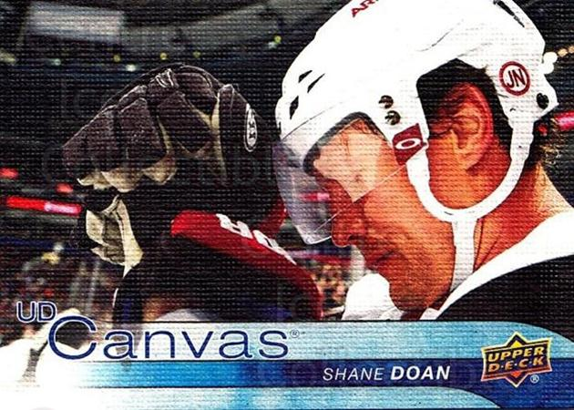 2016-17 Upper Deck Canvas #6 Shane Doan<br/>2 In Stock - $2.00 each - <a href=https://centericecollectibles.foxycart.com/cart?name=2016-17%20Upper%20Deck%20Canvas%20%236%20Shane%20Doan...&quantity_max=2&price=$2.00&code=704549 class=foxycart> Buy it now! </a>