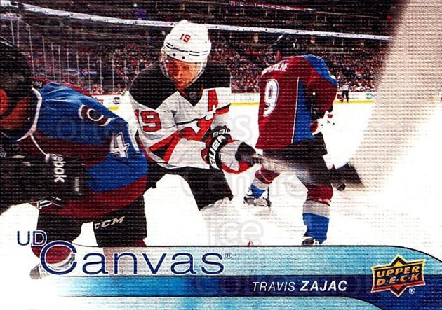 2016-17 Upper Deck Canvas #52 Travis Zajac<br/>2 In Stock - $2.00 each - <a href=https://centericecollectibles.foxycart.com/cart?name=2016-17%20Upper%20Deck%20Canvas%20%2352%20Travis%20Zajac...&quantity_max=2&price=$2.00&code=704595 class=foxycart> Buy it now! </a>