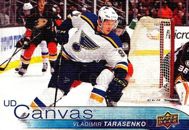 2016-17 Upper Deck Canvas #71 Vladimir Tarasenko<br/>1 In Stock - $3.00 each - <a href=https://centericecollectibles.foxycart.com/cart?name=2016-17%20Upper%20Deck%20Canvas%20%2371%20Vladimir%20Tarase...&quantity_max=1&price=$3.00&code=704614 class=foxycart> Buy it now! </a>