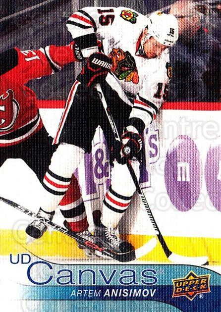 2016-17 Upper Deck Canvas #139 Artem Anisimov<br/>2 In Stock - $2.00 each - <a href=https://centericecollectibles.foxycart.com/cart?name=2016-17%20Upper%20Deck%20Canvas%20%23139%20Artem%20Anisimov...&quantity_max=2&price=$2.00&code=704682 class=foxycart> Buy it now! </a>