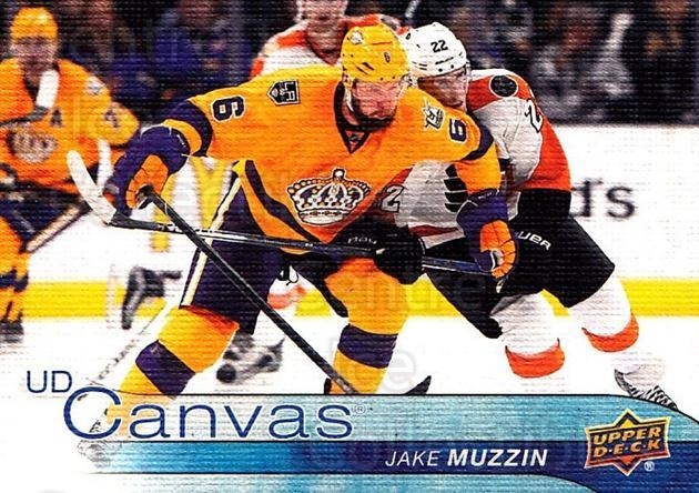 2016-17 Upper Deck Canvas #154 Jake Muzzin<br/>1 In Stock - $2.00 each - <a href=https://centericecollectibles.foxycart.com/cart?name=2016-17%20Upper%20Deck%20Canvas%20%23154%20Jake%20Muzzin...&quantity_max=1&price=$2.00&code=704697 class=foxycart> Buy it now! </a>