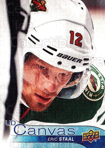 2016-17 Upper Deck Canvas #160 Eric Staal<br/>2 In Stock - $2.00 each - <a href=https://centericecollectibles.foxycart.com/cart?name=2016-17%20Upper%20Deck%20Canvas%20%23160%20Eric%20Staal...&quantity_max=2&price=$2.00&code=704703 class=foxycart> Buy it now! </a>