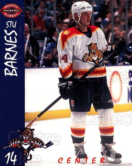 1995-96 Florida Panthers Boston Market #1 Stu Barnes<br/>1 In Stock - $3.00 each - <a href=https://centericecollectibles.foxycart.com/cart?name=1995-96%20Florida%20Panthers%20Boston%20Market%20%231%20Stu%20Barnes...&quantity_max=1&price=$3.00&code=704815 class=foxycart> Buy it now! </a>