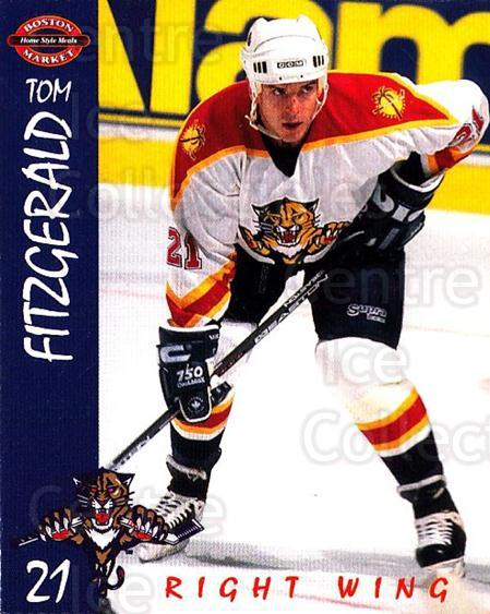 1995-96 Florida Panthers Boston Market #5 Tom Fitzgerald<br/>1 In Stock - $3.00 each - <a href=https://centericecollectibles.foxycart.com/cart?name=1995-96%20Florida%20Panthers%20Boston%20Market%20%235%20Tom%20Fitzgerald...&quantity_max=1&price=$3.00&code=704819 class=foxycart> Buy it now! </a>