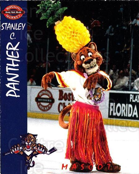 1995-96 Florida Panthers Boston Market #30 Mascot<br/>1 In Stock - $3.00 each - <a href=https://centericecollectibles.foxycart.com/cart?name=1995-96%20Florida%20Panthers%20Boston%20Market%20%2330%20Mascot...&quantity_max=1&price=$3.00&code=704844 class=foxycart> Buy it now! </a>