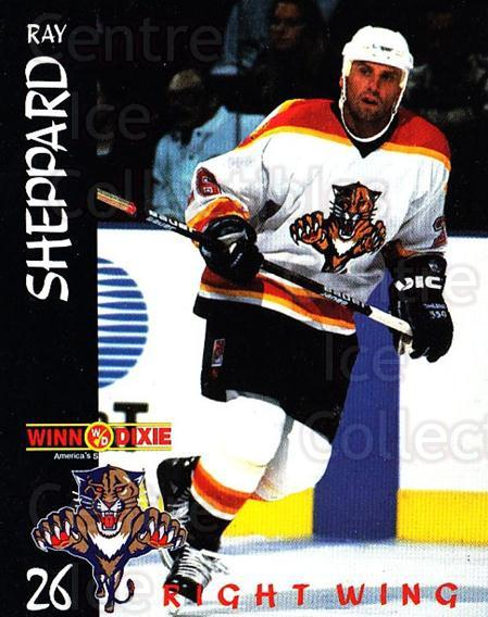 1996-97 Florida Panthers Winn Dixie #20 Ray Sheppard<br/>1 In Stock - $3.00 each - <a href=https://centericecollectibles.foxycart.com/cart?name=1996-97%20Florida%20Panthers%20Winn%20Dixie%20%2320%20Ray%20Sheppard...&quantity_max=1&price=$3.00&code=704864 class=foxycart> Buy it now! </a>