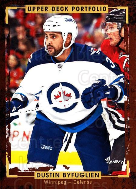 2015-16 Upper Deck Portfolio #11 Dustin Byfuglien<br/>5 In Stock - $1.00 each - <a href=https://centericecollectibles.foxycart.com/cart?name=2015-16%20Upper%20Deck%20Portfolio%20%2311%20Dustin%20Byfuglie...&quantity_max=5&price=$1.00&code=704885 class=foxycart> Buy it now! </a>